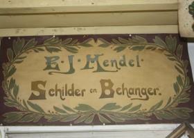 Oud naambord